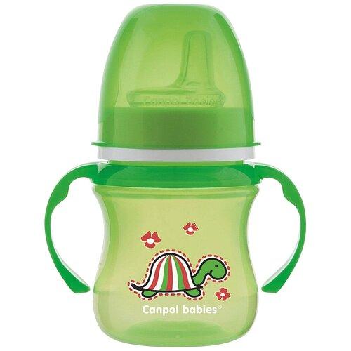 Фото - Поильник-непроливайка Canpol Babies 35/207, 120 мл зеленый/черепаха поильник непроливайка canpol babies 31 500 180 мл зеленый