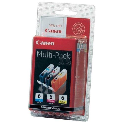 Набор картриджей Canon BCI-6 C/M/Y (4706A029)