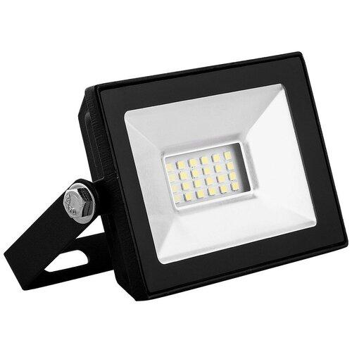 Прожектор светодиодный 10 Вт Saffit SFL90-10 (IP65 6400K черный)
