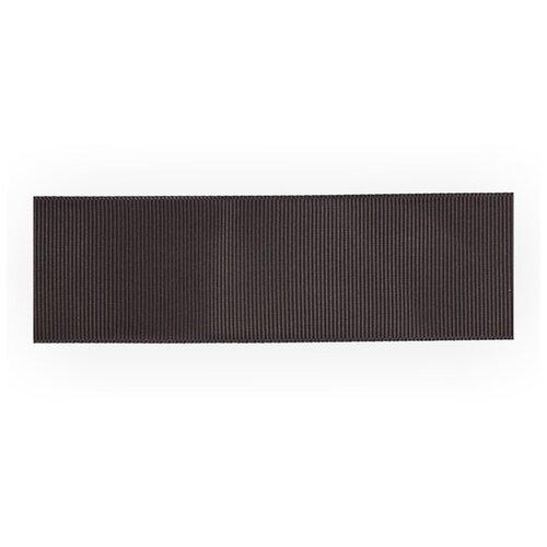 Тесьма декоративная Gamma репсовая, 38 мм, 45,5 м, № 122, цвет темно-серый (GR-38)