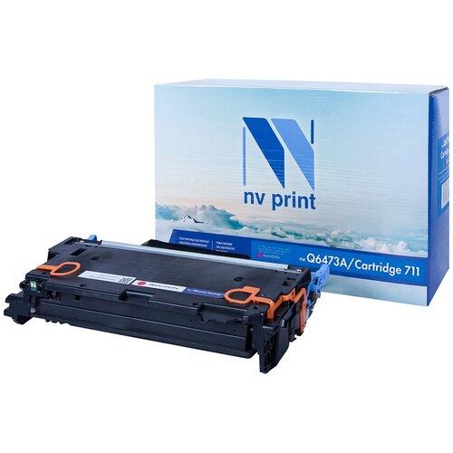 Фото - Картридж NV Print Q6473A/711 Magenta для HP и Canon, совместимый картридж nv print q6473a 711 magenta для hp и canon совместимый