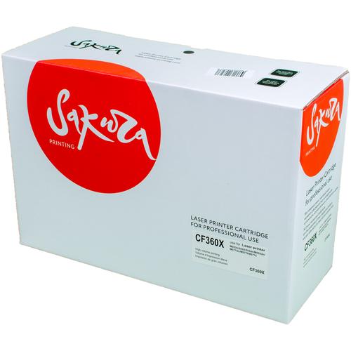 Фото - Картридж Sakura CF360X, совместимый картридж sakura cltm404s совместимый