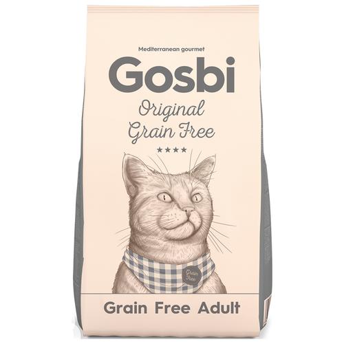 Сухой корм для кошек Gosbi беззерновой 12 кг