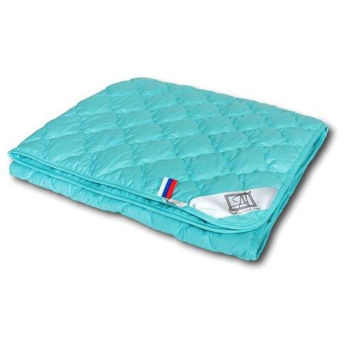 Одеяло АльВиТек Бриз, легкое, 210 х 240 см (голубой)