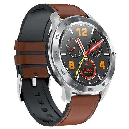 Умные часы XRide DT98, коричневый/серебристый