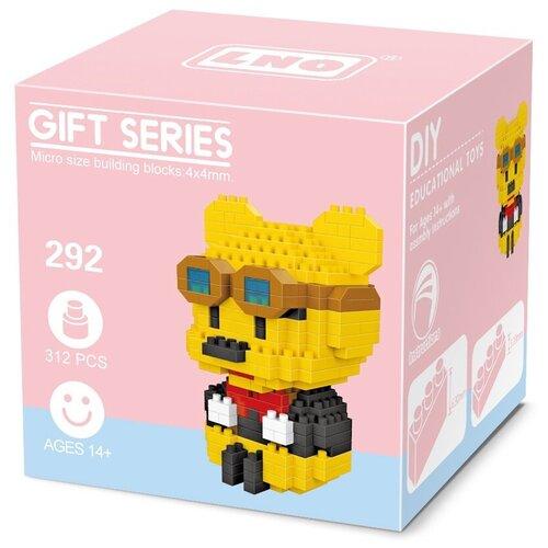 Фото - Конструктор LNO Gift Series 292 Винни Пух конструктор loz brickheadz 1451 винни пух