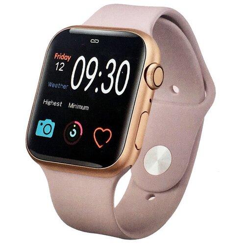 Умные часы IWO 11, розовый/розовое золото