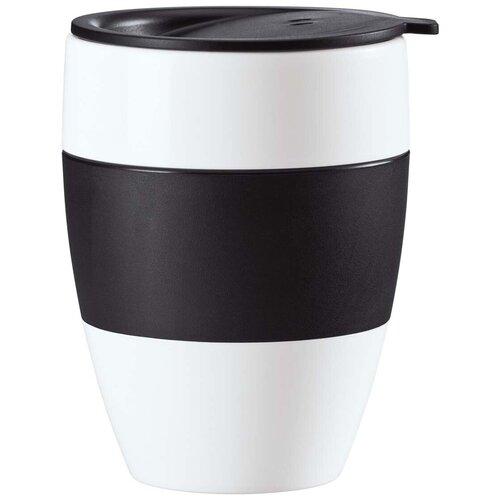 Термокружка Koziol Aroma to go 2.0, 0.4 л белый/черный