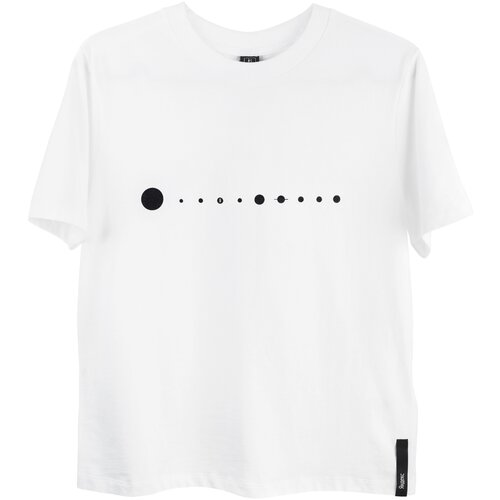 Футболка Парад планет Яндекс мужская (размер L), белый футболка парад планет яндекс женская размер l черный