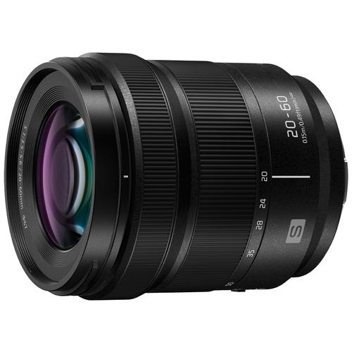 Фото - Объектив Panasonic Lumix S 20-60mm f/3.5-5.6 (S-R2060E) черный panasonic lumix h h025me s 25mm f 1 7 g aspherical белая коробка