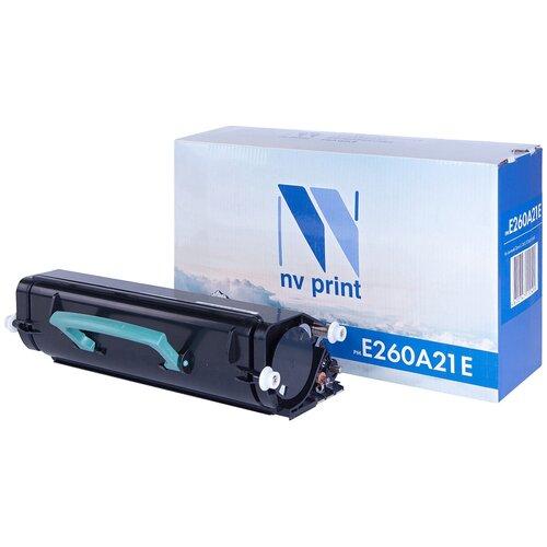 Фото - Картридж NV Print E260A21E для Lexmark, совместимый картридж nv print 51b5h00 для lexmark совместимый