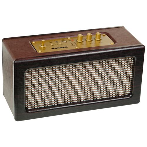 TELEFUNKEN Портативные аудиосистемы TF-PS1265B(темное дерево)