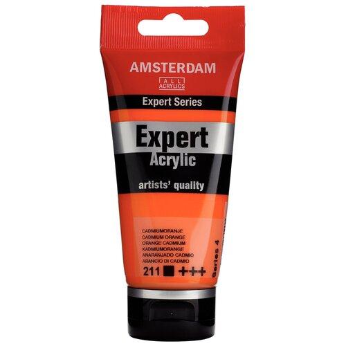 Фото - Royal Talens Краска акриловая Amsterdam Expert туба 75мл №211 Кадмий оранжевый краска акриловая simply оранжевый туба 75мл