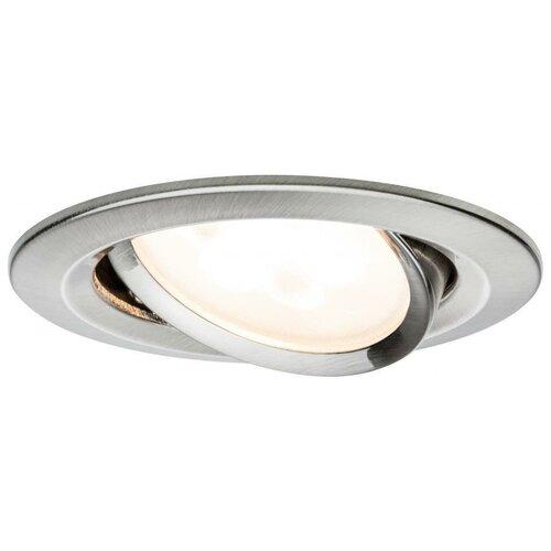 Фото - Встраиваемый светильник Paulmann 93649 3 шт встраиваемый светильник paulmann 92521 3 шт