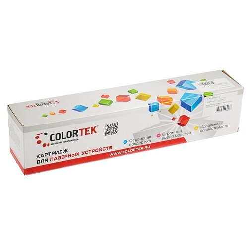 Фото - Картридж Colortek C-KX-FAT411A, совместимый картридж nv print kx fat411a kx fat411a kx fat411a kx fat411a для для panasonic kx fa t 411a 2000стр черный