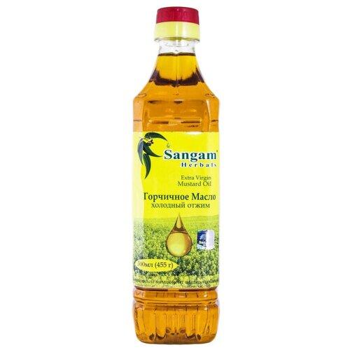 Sangam Herbals масло горчичное из желтой горчицы, 0.5 л чаванпраш джем sangam herbals