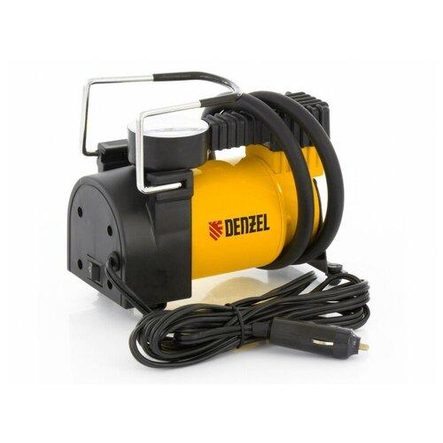 Автомобильный компрессор Denzel DС-20 желтый/черный