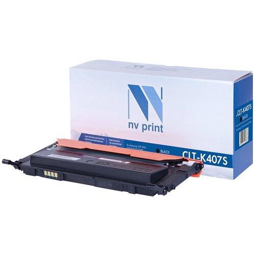 Картридж NV Print CLT-K407S для Samsung, совместимый картридж nv print clt m406s для samsung совместимый