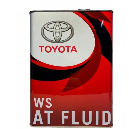 Трансмиссионное масло TOYOTA ATF WS 4 л