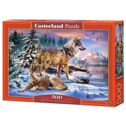 Пазл Castorland Wolfish Wonderland (B-53049), 500 дет. пазл castorland tall ship leaving harbour b 52851 500 дет