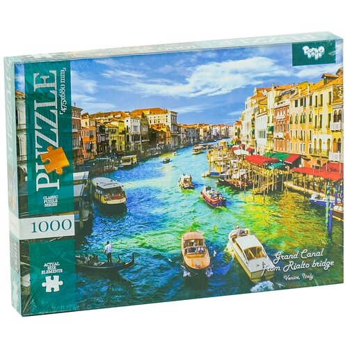 Пазл Danko Toys Венеция (C1000-09-08), 1000 дет. пазл danko toys городская река