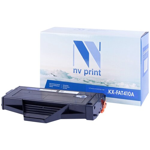 Картридж NV Print KX-FAT410A для Panasonic, совместимый