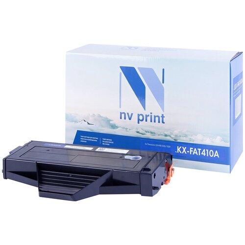 Фото - Картридж NV Print KX-FAT410A для Panasonic, совместимый картридж cactus cs fat410a для panasonic kx fat410a7 mb1500 mb1507 mb1520 черный 2500стр