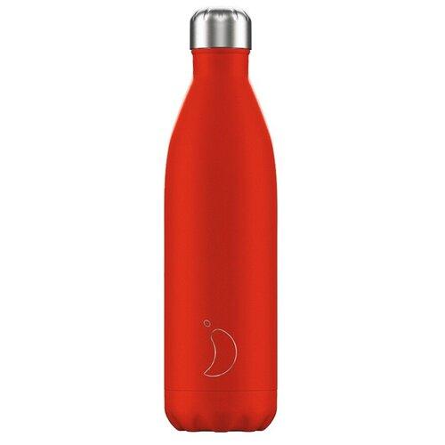 Термобутылка Chilly's Neon, 0.75 л red