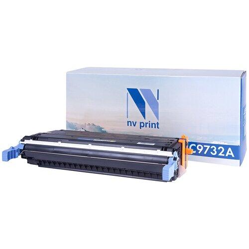 Фото - Картридж NV Print C9732A для HP, совместимый картридж nv print kx fat410a для panasonic совместимый