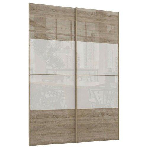 Двери раздвижные Stolline для шкафа Марвин-3 СТЛ.299.42 белый/дуб сонома