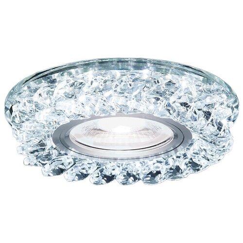 Фото - Встраиваемый светильник Ambrella light S257 CH, хром/прозрачный встраиваемый светильник ambrella light s288 ch хром прозрачный