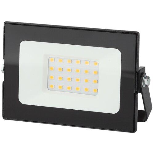 Фото - Прожектор светодиодный 30 Вт ЭРА LPR-021-0-30K-030 светодиодный прожектор эра lpr 30 6500k m smd б0017301