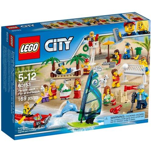 Купить Конструктор LEGO City 60153 Отдых на пляже, Конструкторы