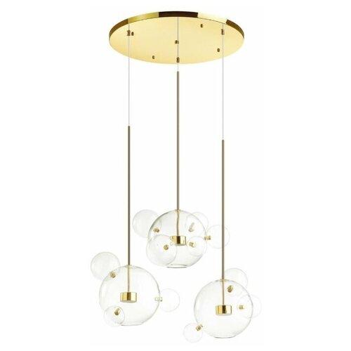 Фото - Люстра светодиодная Odeon Light Bubbles 4640/36LA, 36 Вт потолочный светильник odeon light bubbles 4640 12la 12 вт