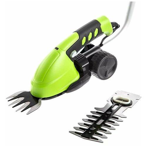 Фото - Ножницы-кусторез аккумуляторный greenworks 1600207 16 см ножницы кусторез бензиновый echo hcr 165es 64 см