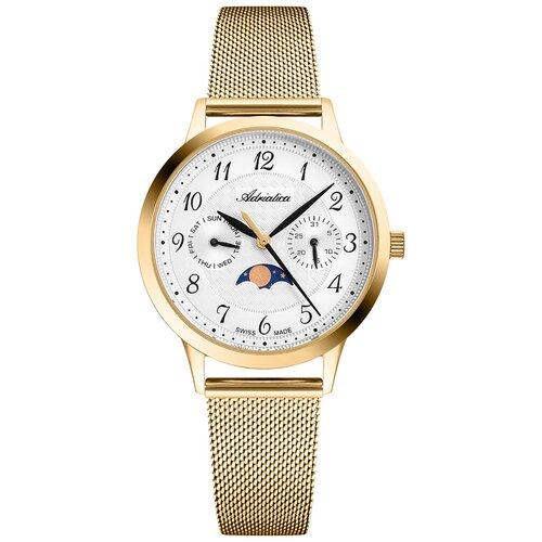 Часы наручные швейцарские женские Adriatica A3174.1123QF часы наручные швейцарские женские adriatica a3188 1111q
