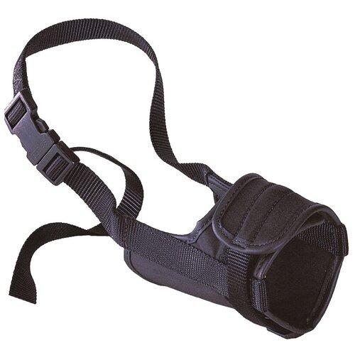 намордник для собак ferplast safe medium обхват морды 20 25 см черный Намордник для собак Ferplast Safe Medium, обхват морды 20-25 см черный
