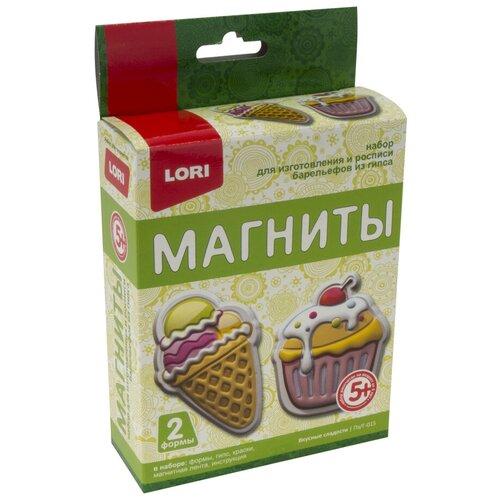 LORI Магниты из гипса Вкусные сладости (Пз/Г-015)