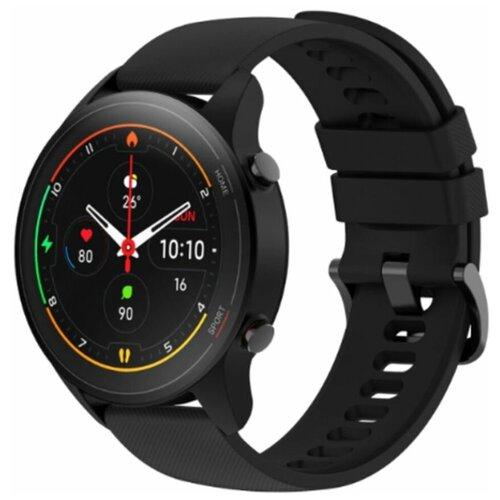 Фото - Умные часы Xiaomi Mi Watch, черный умные часы xiaomi mi watch eac черный xmwtcl02