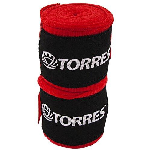 Бинты боксерские TORRES, 3.5 м x 5.5 см, красный (PRL62017R)