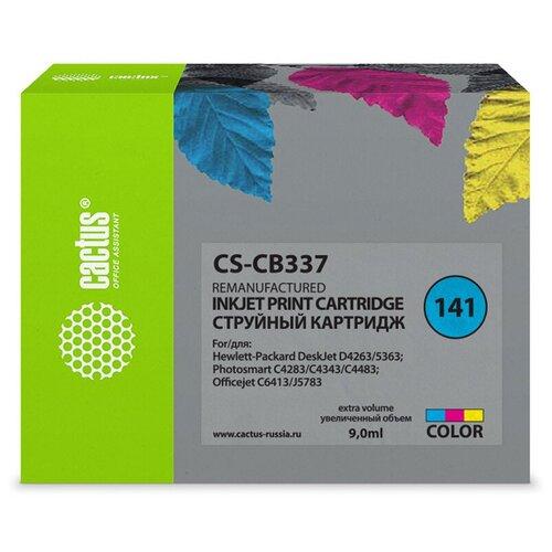 Фото - Картридж cactus CS-CB337 9 мл., совместимый картридж cactus cs cli471xlbk 10 2 мл совместимый