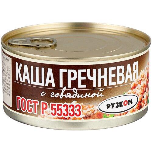 Фото - Рузком Каша гречневая с говядиной 325 г плов рузком узбекский с говядиной 325 г
