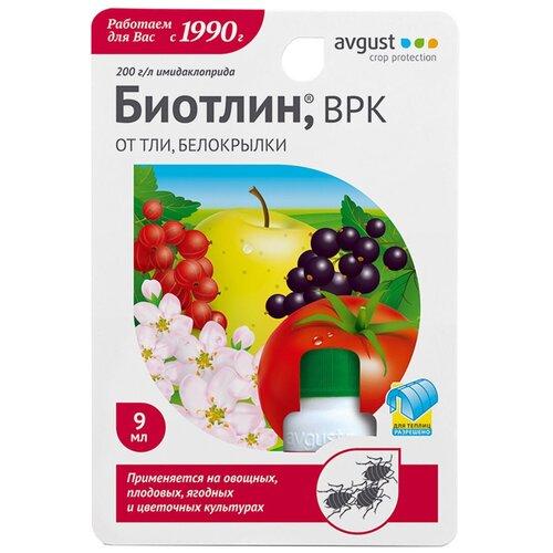 Avgust Препарат от тли на овощных и ягодных культурах Биотлин, 9 мл avgust препарат от тли на овощных и ягодных культурах биотлин 9 мл
