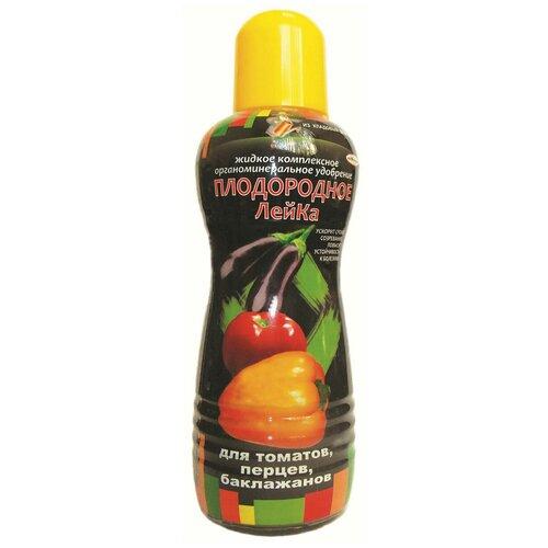 Удобрение ПКФ Усадьба Плодородное-ЛейКа для томатов, перцев, баклажанов, 0.5 л