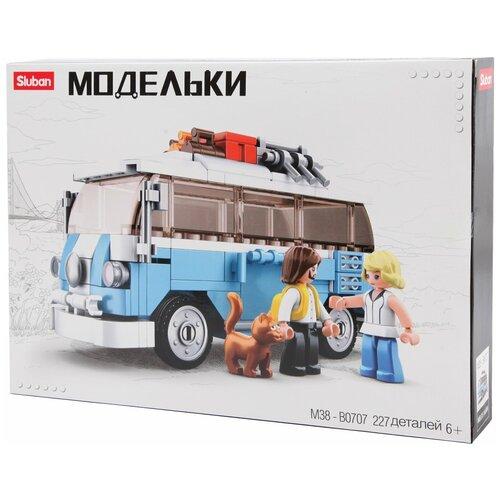Конструктор SLUBAN Модельки M38-B0707 Фургон