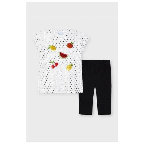 Комплект одежды Mayoral размер 128, черный, Комплекты и форма  - купить со скидкой