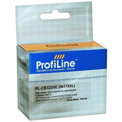 Картридж ProfiLine PL-CB322HE-Bk, совместимый картридж profiline pl tn 241bk bk совместимый