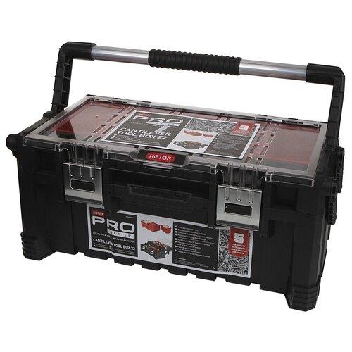 Ящик для инструментов Keter Cantilever Tool Box 22 17187311 ящик для инструментов keter gear tool box 17200382