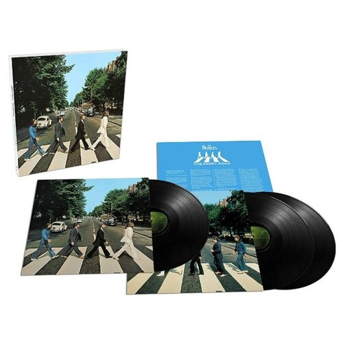 Universal The Beatles. Abbey Road (50Th Anniversary Edition) (3 виниловые пластинки)