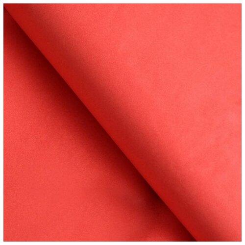 Бумага упаковочная тишью коралловая 50 см х 66 см, набор 10 шт. 7059621